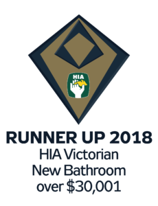 HIA Victorian new bathroom runner up