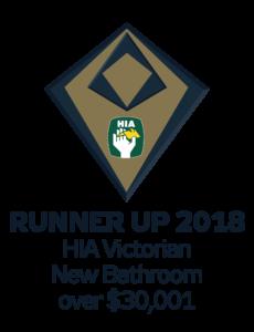 HIA Victorian new bathroom runner up