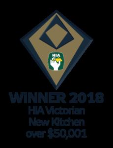 HIA Victorian new kitchen winner