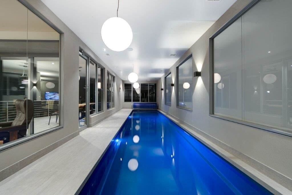 the award winning swimming pool designed by Grollo