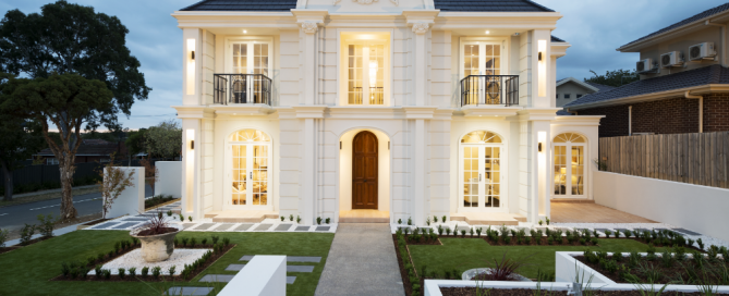 French provincial style house